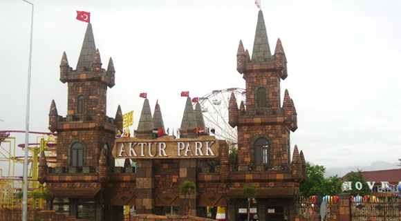 Луна-парк Aktur Park, Анталия, Турция