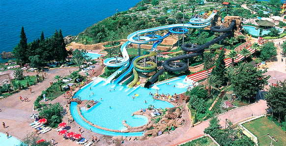 Аквапарк Дедеман, Анталья, Турция