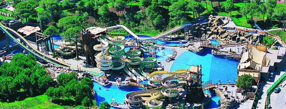 Аквапарк Troy Aqua Park, Белек, Турция