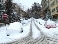 Анкара завалена снегом