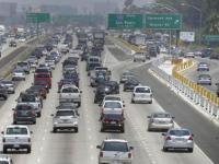 Автомобильные пробки в последний день праздника Ураза-Байрам