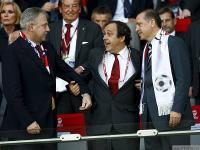 Эрдоган встретился с Платини