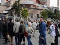 Большинство турецких гидов владеют только английским языком