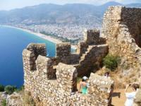 Крепость Аланьи Alanya Kalesi, Турция