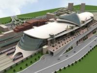 новый железнодорожный вокзал в Анкаре
