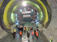 В августе 2013 года состоится первая поездка по тоннелю Мармарай