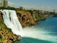 Водопад Нижний Дюден (Duden Selalesi), Анталья, Турция