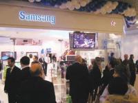 В Стамбуле прошла выставка товаров Samsung