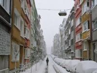 Турцию засыпает снегом