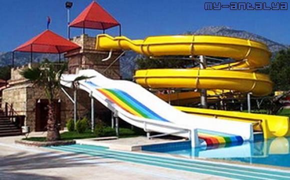 Аквапарк Водный мир в Кемере, Турция