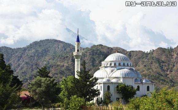 Чиралы - мечеть.