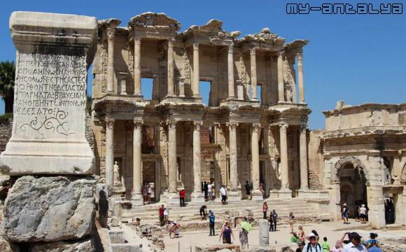 Эфес, библиотека Цельсия.