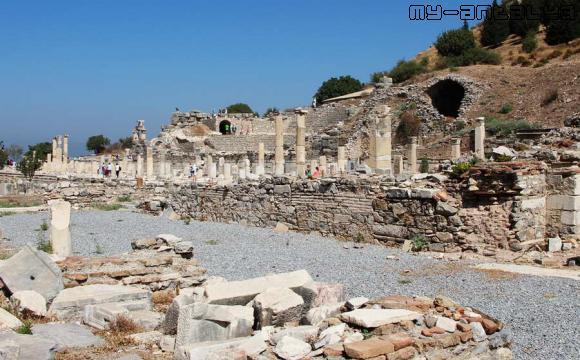 Малый амфитеатр в Эфесе, Сельчук, Турция.