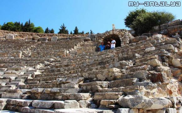 Одеон в Эфесе - фото.