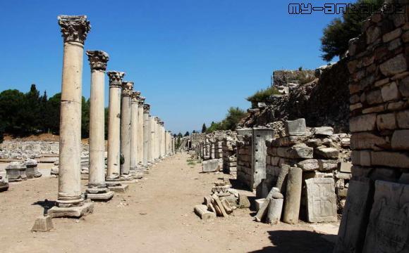Эфес, Мраморная улица.