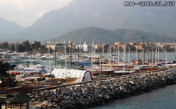 Порт Кемера, Турция.
