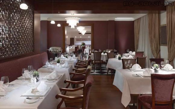 Agatha Restaurant отеля Pera Palace Hotel