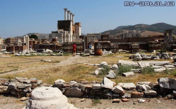 Церковь св. Иоанна в Турции.