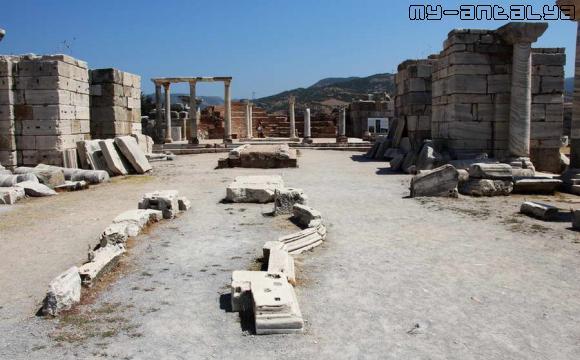 Базилика св. Иоанна в Эфесе - фото.