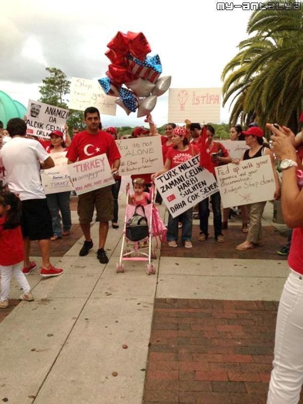 Акция поддержки во Флориде (США)