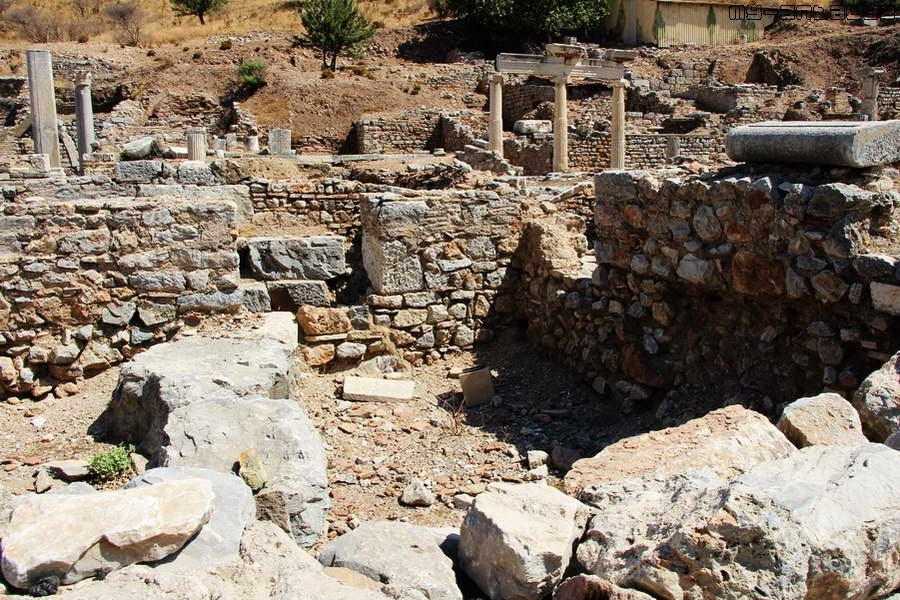 Пританион - Дворец парламента (городская администрация) в Эфесе.